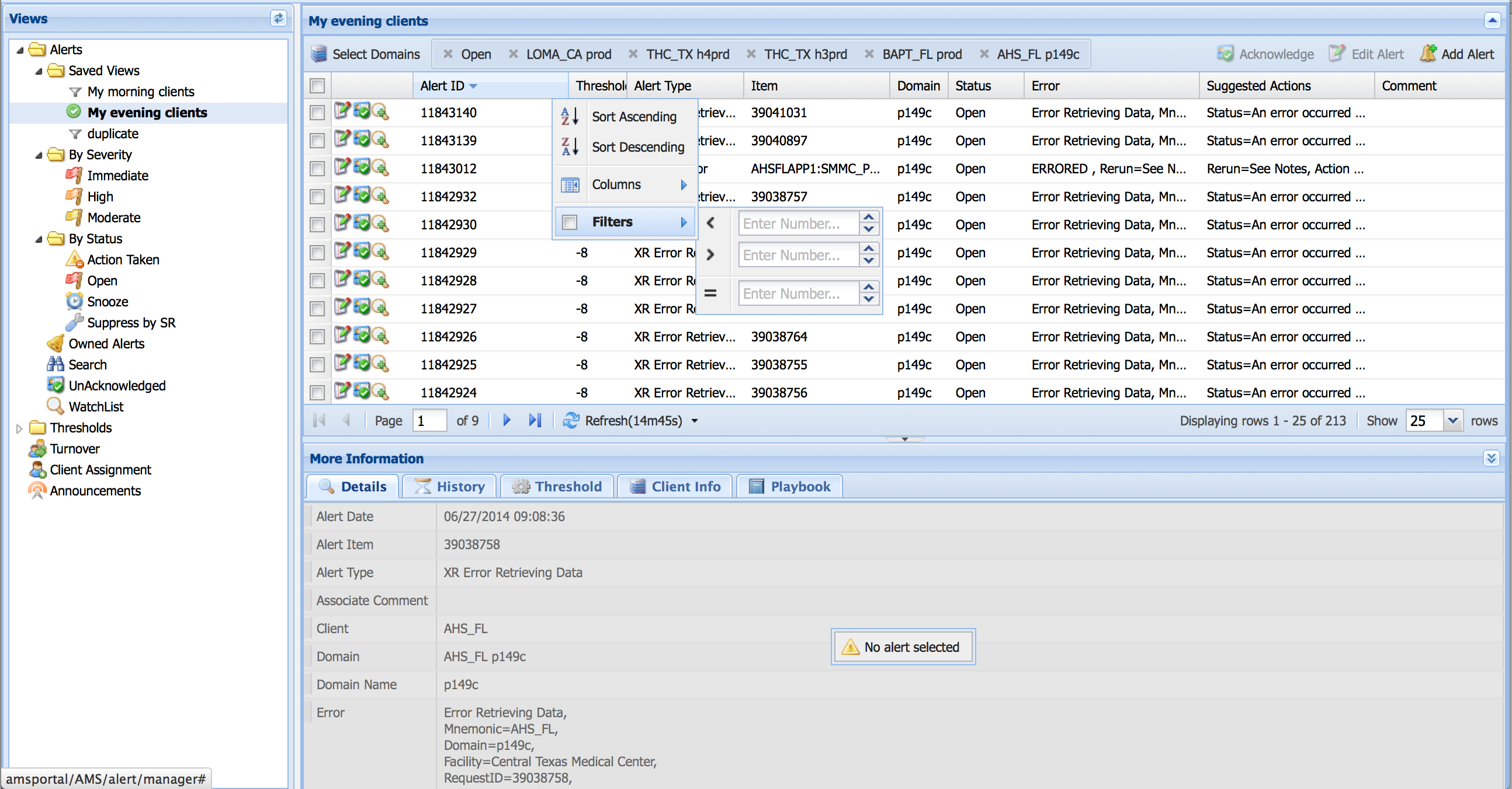 extjs screenshot